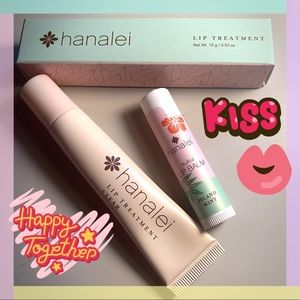 5/$15 Hanalei Lip Treatment & Lip Balm Set